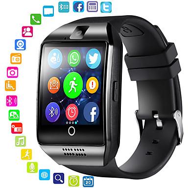 povoljno Muški satovi-Muškarci Žene Sportski sat Smart Satovi digitalni sat Šiljci za meso Silikon Crna Bluetooth Daljinsko upravljanje GPS Šiljci za meso Ležerne prilike Kvadrat Moda - Crn Obala Pink / Štoperica