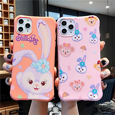 voordelige iPhone-hoesjes-hoesje Voor Apple iPhone 11 / iPhone 11 Pro / iPhone 11 Pro Max Patroon Achterkant dier / Cartoon TPU