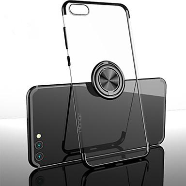 voordelige Huawei Mate hoesjes / covers-hoesje Voor Huawei / Vivo Huawei Honor 10 / Mate 10 / Mate 10 pro Schokbestendig / Ringhouder / Mat Achterkant Effen TPU / Metaal