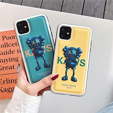 voordelige iPhone-hoesjes-hoesje Voor Apple iPhone 11 / iPhone 11 Pro / iPhone 11 Pro Max Patroon Achterkant dier / Cartoon PU-nahka