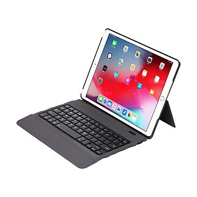 """olcso iPad billentyűzetek-bluetooth multimédiás billentyűzet újratölthető / fagyos foripad 2019 10,2 """"ios bluetooth / type-c"""