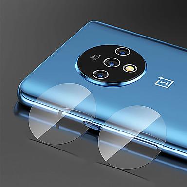 olcso Képernyő védők-képernyővédő oneplus 7t / oneplus 7t pro edzett üveghez 1 db kamera lencsevédő nagyfelbontású (hd) / 9h keménység / robbanásbiztos