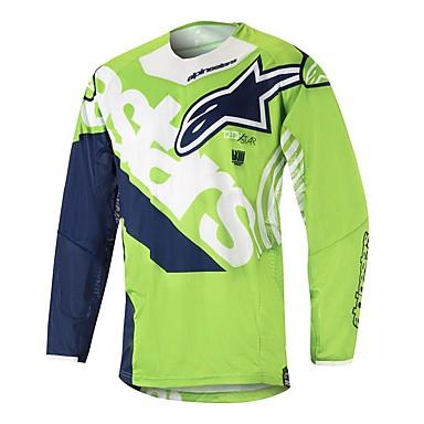 Недорогие Мотоциклетные куртки-мотоцикл джерси гора скорость вниз на заказ скорость вниз спорт на открытом воздухе езда на велосипеде костюм беговые гонки скорость вниз футболка на заказ