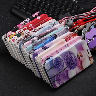 Недорогие Чехлы и кейсы для Xiaomi-Кейс для Назначение Xiaomi Xiaomi Redmi Note 5 Pro / Xiaomi Redmi Примечание 5 / Xiaomi Redmi Note 7 Кошелек / Защита от удара Чехол Пейзаж / Мультипликация Кожа PU