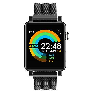 رخيصةأون ساعات ذكية-dmdg smartwatch المقاوم للصدأ bt اللياقة البدنية تعقب دعم ecg مراقبة ضغط الدم الرياضة ووتش الذكية ل أبل / سامسونج / الروبوت الهواتف