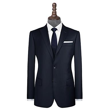 levne Pánské obleky-námořnická modrá keprová vlna na zakázku