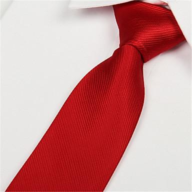 رخيصةأون اكسسوارات رجالية-ربطة العنق لون سادة رجالي حفلة / عمل / أساسي