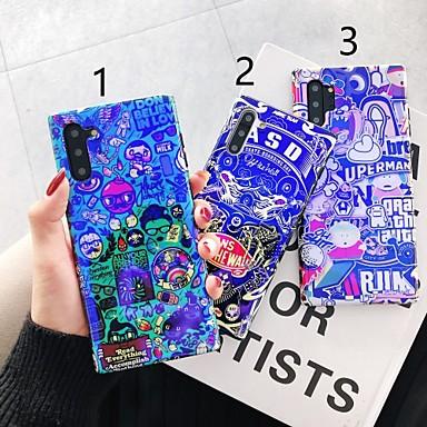 billige Etuier / deksler til Galaxy Note-modellene-Etui Til Samsung Galaxy S9 / S9 Plus / S8 Plus Mønster Bakdeksel Ord / setning Plast