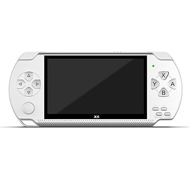 olcso Játékkonzolok-X6 GBA版(8G) Játék Konzol Beépített 1 pcs Játékok 4.3 hüvelyk hüvelyk Hordozható