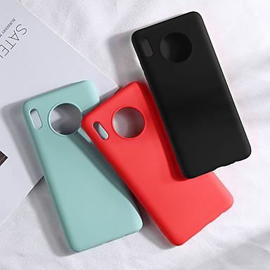 رخيصةأون حافظات / جرابات هواتف جالكسي S-غطاء من أجل Samsung Galaxy S9 Plus / S8 Plus / S8 نموذج غطاء خلفي لون سادة TPU