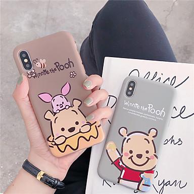 voordelige iPhone-hoesjes-hoesje Voor Apple iPhone XS / iPhone XR / iPhone XS Max Patroon Achterkant dier / Cartoon TPU