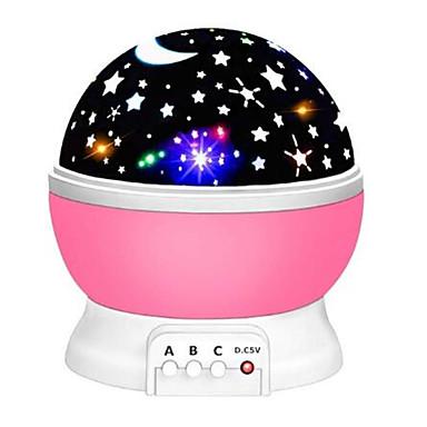olcso Okos otthon-csillagvetítő hold lámpa csillagos éjszakai fény led csillagfény lampara luna usb hálószoba party újratölthető éjszakai fény gyermek számára