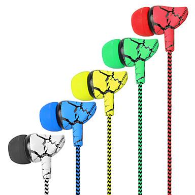 olcso Gaming fülhallgatók-eredeti fülhallgató repedés fonott vezetékes mikrofonnal 5 színű fülhallgató hifi fülhallgató basszus fülhallgató kiváló minőségű fülhallgató