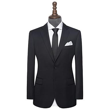 levne Pánské obleky-zakázkový oblek z černé keprové vlny