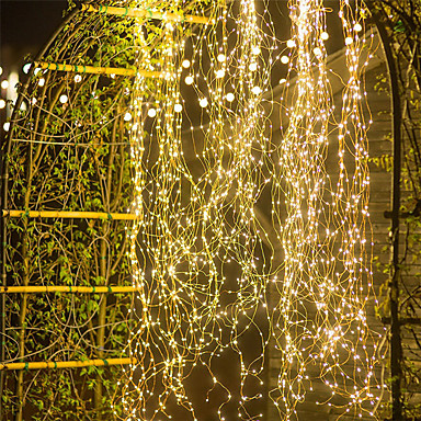 저렴한 유연한 LED 스트립 조명-1 개 야외 2 mx10 200led 덩굴 분기 led 문자열 요정 빛 야외 정원 울타리 트리 led 문자열 요정 분기 빛