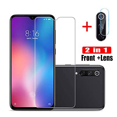 Недорогие Защитные плёнки для экранов Xiaomi-XIAOMIScreen ProtectorXiaomi Redmi 7 Уровень защиты 9H Протектор объектива спереди и камеры 2 штs Закаленное стекло