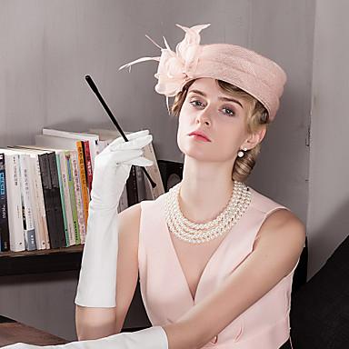 ieftine Bijuterii de Păr-Damă Petrecere Vară Linen Pălărie Vară