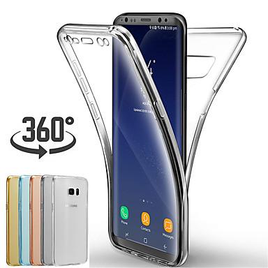 voordelige Galaxy A-serie hoesjes / covers-hoesje voor samsung a70 / a60 / a50 / a40 / a30 / a20e / a10 / m10 / m20 / m30 / a9 2018 / a8 2018 / a7 2018 / a6 2018 / a5 2018 ultradunne full body zachte effen zachte tpu-hoes
