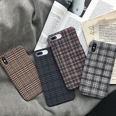 رخيصةأون أغطية أيفون-غطاء من أجل Apple اي فون 11 / iPhone 11 Pro / iPhone 11 Pro Max ضد الغبار / نحيف جداً غطاء خلفي نموذج هندسي / أفخم منسوجات / TPU