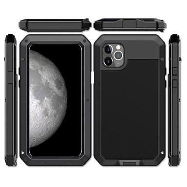 preiswerte iPhone Hüllen-Hülle Für Apple iPhone 11 / iPhone 11 Pro / iPhone 11 Pro Max Stoßresistent / Staubdicht / Wasserdicht Rückseite Rüstung Metal / Aluminium