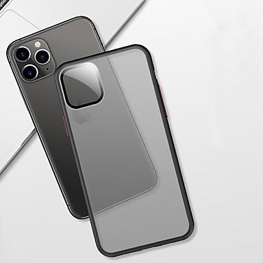 voordelige iPhone 6 hoesjes-hoesje Voor Apple iPhone 11 / iPhone 11 Pro / iPhone 11 Pro Max Mat / Doorzichtig Achterkant Effen TPU / Muovi