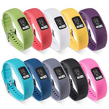 voordelige Smartwatch-accessoires-horlogeband voor vivofit 4 polige klassieke polsband siliconen polsband