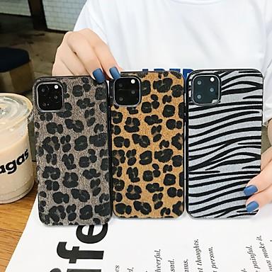 Недорогие Кейсы для iPhone 7-Кейс для Назначение Apple iPhone 11 / iPhone 11 Pro / iPhone 11 Pro Max Защита от удара Кейс на заднюю панель Полосы / волосы / Плюш ТПУ