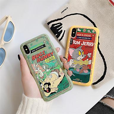 voordelige iPhone-hoesjes-hoesje Voor Apple iPhone 11 / iPhone 11 Pro / iPhone 11 Pro Max Patroon Achterkant Kat / Cartoon TPU