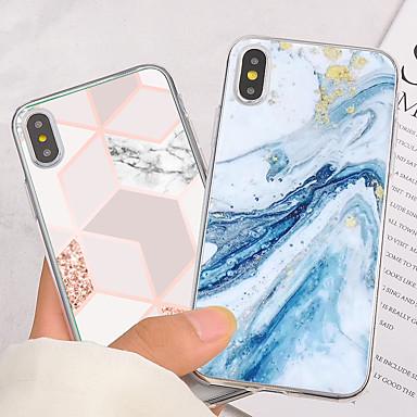 olcso iPhone 5 tokok-divat művészi achát márványból készült puha szilikon telefon tok iPhone 11 pro max -hoz iphone xr xs max 7 8 6 6s plusz 5 5s fedél