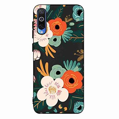 Недорогие Чехлы и кейсы для Galaxy А-Кейс для Назначение SSamsung Galaxy S9 / S9 Plus / S8 Plus Матовое / С узором Кейс на заднюю панель Цветы ТПУ