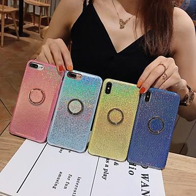 voordelige iPhone-hoesjes-hoesje Voor Apple iPhone 11 / iPhone 11 Pro / iPhone 11 Pro Max met standaard / Glitterglans Achterkant Glitterglans TPU
