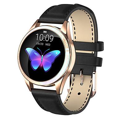 رخيصةأون ساعات ذكية-smartwatch kw20 الفولاذ المقاوم للصدأ bt اللياقة البدنية تعقب دعم دعم / رصد معدل ضربات القلب الرياضة للماء ووتش الذكية لسامسونج / فون / هواتف أندرويد