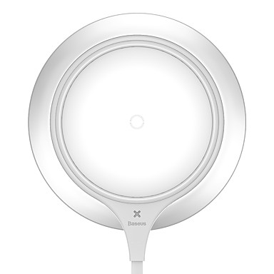 cheap Wireless Chargers-Baseus Metal Wireless Charger Silver  white