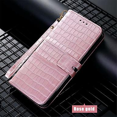 Недорогие Кейсы для iPhone 6-Кейс для Назначение Apple iPhone 11 / iPhone 11 Pro / iPhone 11 Pro Max Кошелек / Бумажник для карт / Защита от удара Чехол Однотонный Кожа PU