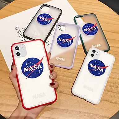 رخيصةأون أغطية أيفون-غطاء من أجل Apple اي فون 11 / iPhone 11 Pro / iPhone 11 Pro Max ضد الصدمات غطاء خلفي لون سادة بلاستيك