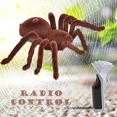 olcso Mindszentek napi parti kiegészítők-Halloween játékok Pókok Állatok Furcsa játékok Hátborzongató Műanyag ház Gyerekek Összes Játékok Ajándék