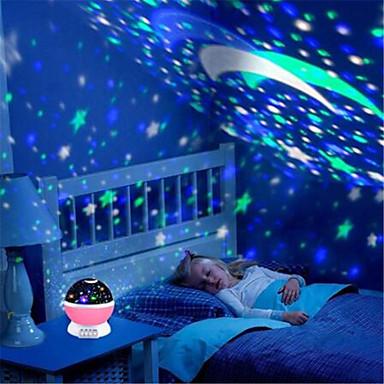 zvijezda projektor mjesec svjetiljka zvijezda noćno svjetlo led svjetlost zvijezda lampara luna usb spavaća soba punjač noćno svjetlo za dijete