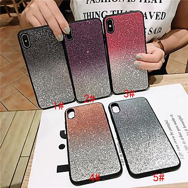 voordelige iPhone 6 Plus hoesjes-hoesje Voor Apple iPhone 11 / iPhone 11 Pro / iPhone 11 Pro Max Glitterglans Achterkant Kleurgradatie TPU