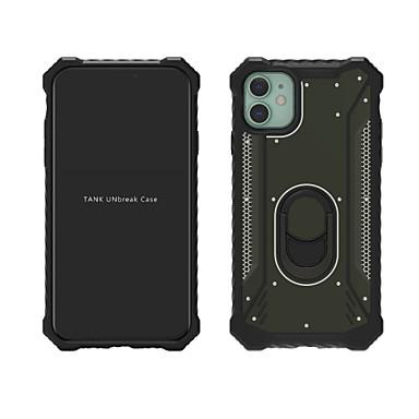 preiswerte iPhone Hüllen-Hülle Für Apple iPhone 11 / iPhone 11 Pro / iPhone 11 Pro Max Stoßresistent / mit Halterung Rückseite Rüstung Metal