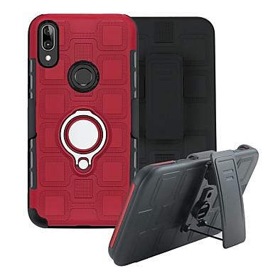 رخيصةأون Motorola أغطية / كفرات-غطاء من أجل موتورولا MOTO E6 / MOTO E6 زائد / MOTO عمل واحد ضد الصدمات / ضد الغبار غطاء خلفي لون سادة TPU / بلاستيك