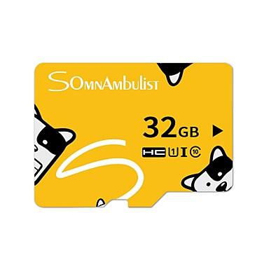 お買い得  メモリカード-LITBest 32GB マイクロSDカードTFカード メモリカード クラス10 卡通中性橙卡