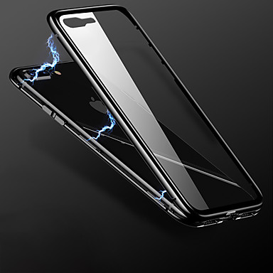 Недорогие Кейсы для iPhone X-Кейс для Назначение Apple iPhone XS / iPhone X / iPhone SE (2020) Полупрозрачный / Wireless Charging Receiver Case Кейс на заднюю панель Однотонный ТПУ