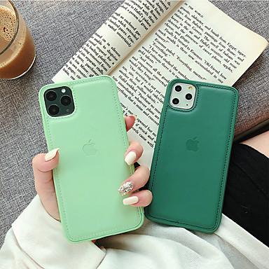 Недорогие Кейсы для iPhone 7-Apple 11pro Max мобильный телефон оболочки жидкий силиконовый рисунок кожи 11 простых бизнес-моделей Apple, 11pro все включено анти-осень XS Max индивидуальный творческий мужчин и женщин 7 / 8p
