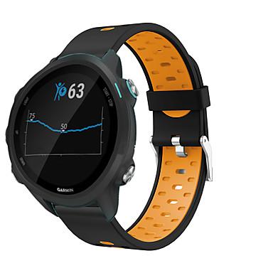voordelige Mobiele telefoon-accessoires-smartwatch band voor vivoactive 3/3 muziek / voorloper 245 m garmin sport siliconen band mode zachte polsband