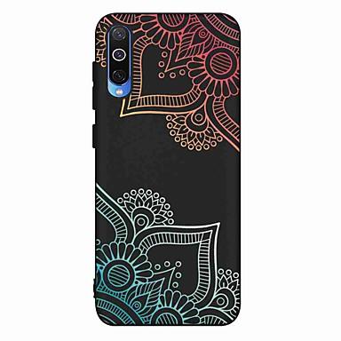 voordelige Galaxy A-serie hoesjes / covers-hoesje Voor Samsung Galaxy S9 / S9 Plus / S8 Plus Mat / Patroon Achterkant Bloem TPU