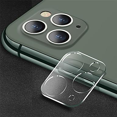 Недорогие Защитные плёнки для экрана iPhone-Протектор объектива камеры прозрачный ультратонкий 9h закаленное стекло HD против царапин для Apple iPhone 11/11 Pro / 11 Pro Max закаленное стекло высокой четкости (HD