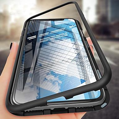 Недорогие Чехлы и кейсы для Galaxy Note-односторонний магнитный чехол для телефона samsung galaxy s10plus / s10e / s10 / s9 / s9plus / s8plus / s8 / note10 / note10pro / note9 / note8 противоударный / прозрачный