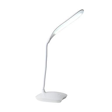 halpa Sisävalaisimet-Pöytälamppu / Työpöydän lamppu / Lukuvalot Silmäsuoja / Säädettävä Yksinkertainen / Moderni nykyaikainen Sisäänrakennettu Li-akku Käyttötarkoitus Makuuhuone / Työhuone / toimisto PVC Valkoinen