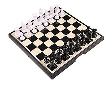 olcso Sakk Játékok-Társasjátékok Sakk Műanyag 1 pcs Gyermek Felnőttek Fiú Lány Játékok Ajándék