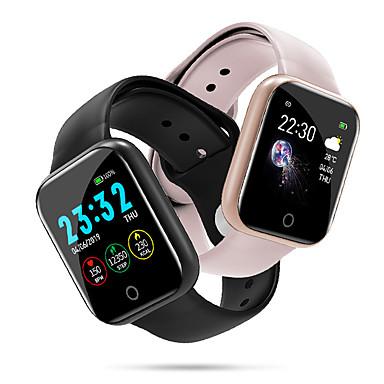 Недорогие Мужские часы-Для пары Смарт Часы Цифровой Стильные Мода Пульсомер силиконовый Черный / Серебристый металл / Розовый Цифровой - Черный Розовый Серебряный Один год Срок службы батареи